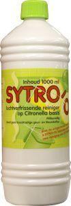 Sytro Ol Luchtverfrissend Reiniger Op Citroenella Basis 1000ml