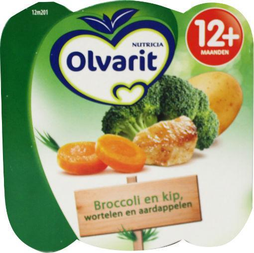 Olvarit 12m201 Broccoli En Kip-w A 230g