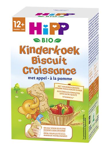 Hipp Bio 12+ Maanden Kinderkoek Met Appelen vanaf12mnd 150gram