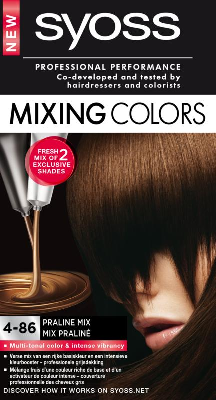 Syoss Mixing Color 4-86 Praline Mix