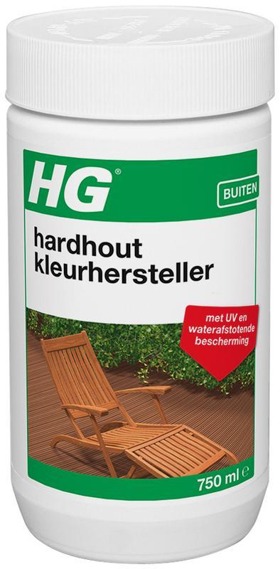 Hardhout bevat mineralen die, wanneer blootgesteld aan weersinvloeden, verkleuren cq vergrijzen. hg teak e.a. ...