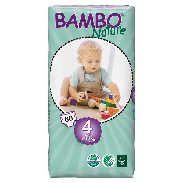 Bambo Babyluier Maxi 4 7-18kg 7tot12mnd 60st