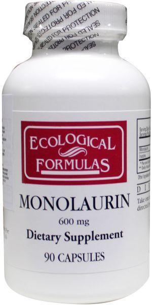 Afbeelding van Ecological Form Monolaurine 600 Mg 90ca