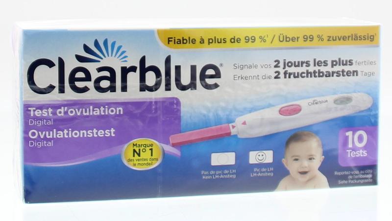 Afbeelding van Clearblue Digitale Ovulatie Stick 10st