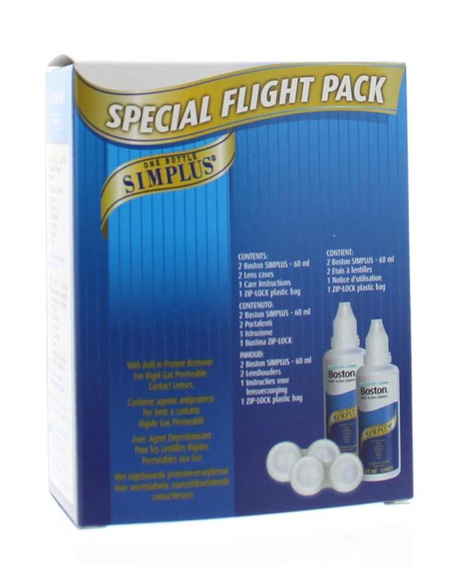 Bausch&Lomb Boston Simplus Flight Pack