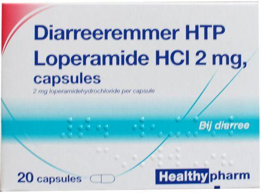 Healthypharm Diarree Remmer Capsules 20st
