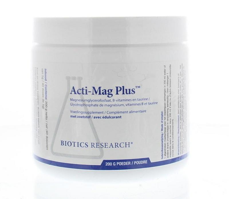 Biotics Acti Mag Plus