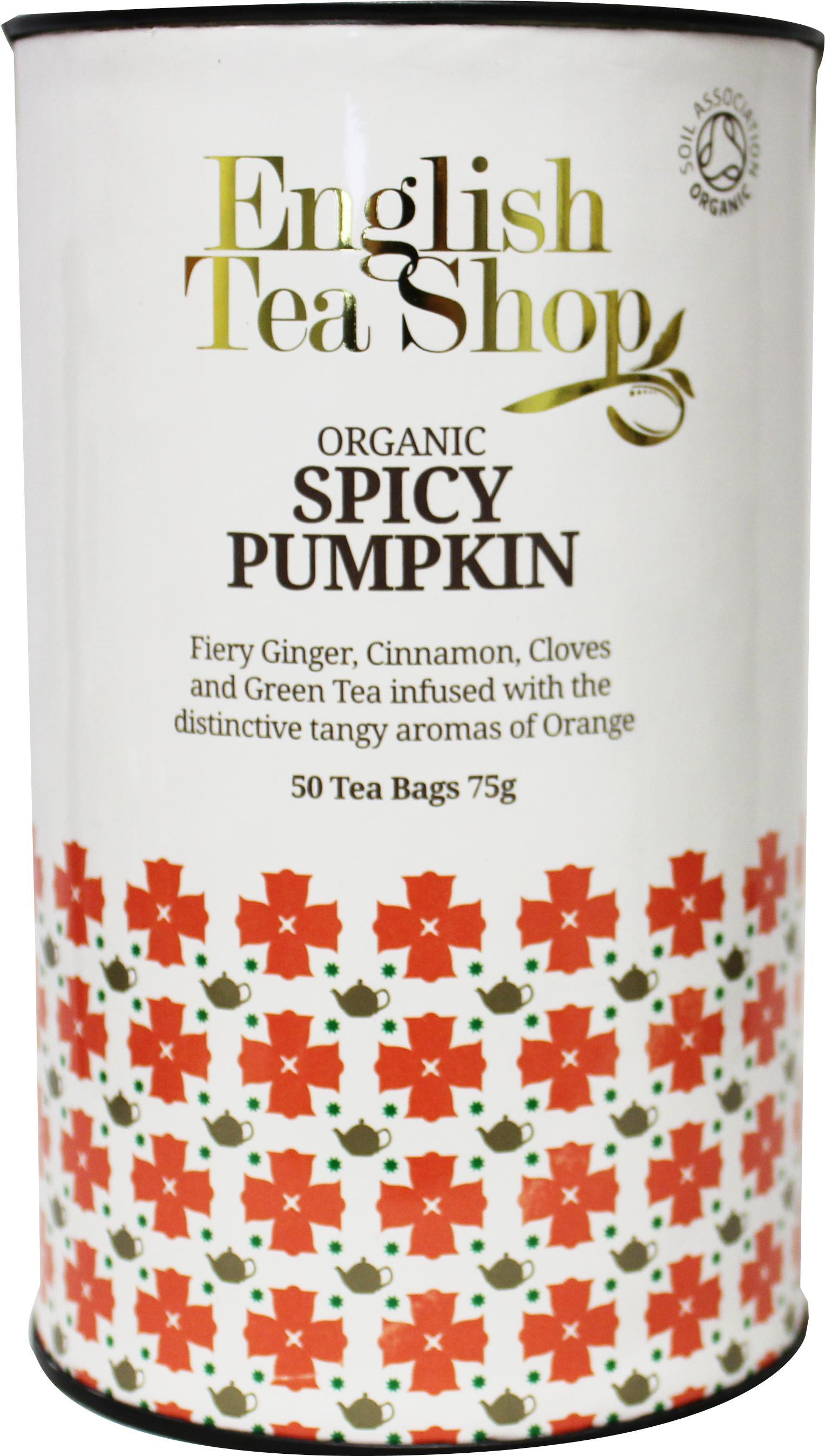 English Tea Shop Spicy Pumpkin Paper Can