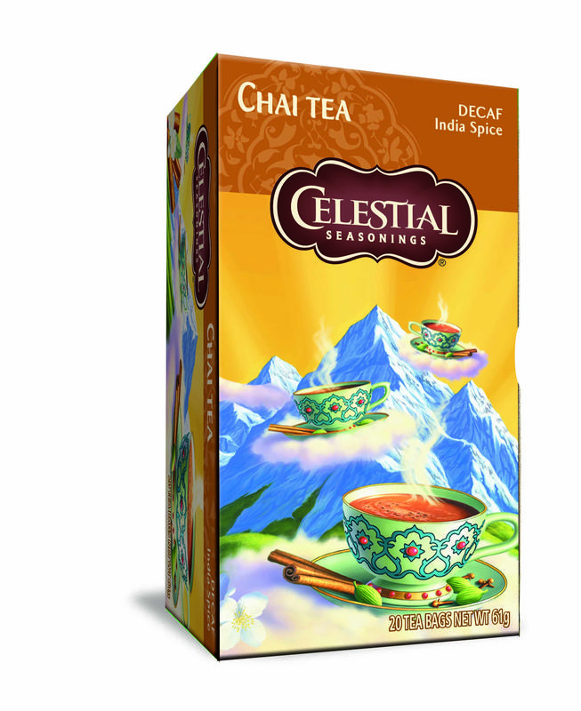 Celestial Season Chai Tea Decaf Indian Spice