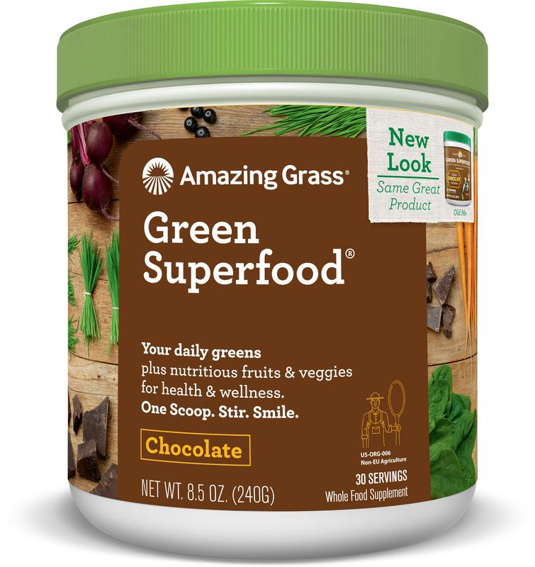 Amazing Grass Chocolate Green Superfood