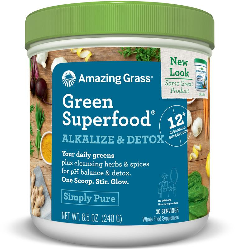 Alkalize Detox Green Superfood Amazing Grass