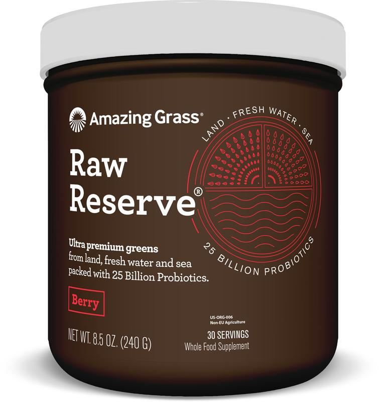 Raw Reserve Berry Green Superfood Amazing Grass