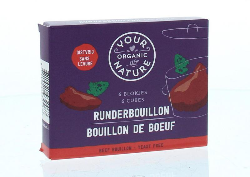 Your Organic Nat Runderbouillon Helder Zonder Gist
