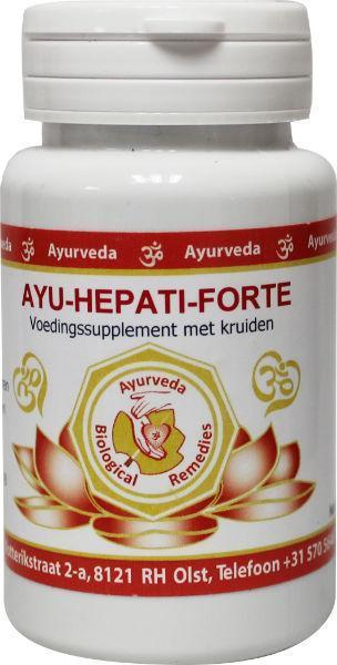 Afbeelding van Ayurveda Br Ayu Hepati Forte 60tb