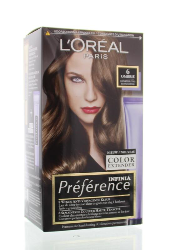 Loreal Preference 6.0 Ombrie Donker Blond
