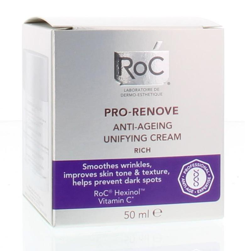 Roc Pro Renove Rich Anti Age Unifying Creme