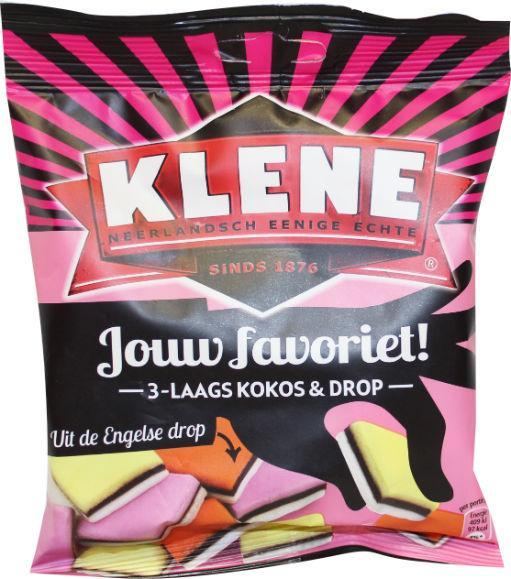 Klene Engelse Drop Kokos & Drop