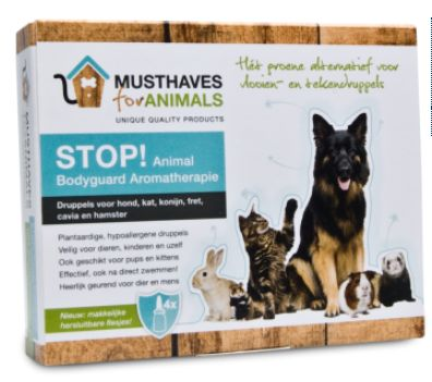 Musthaves Stop Animal Bodyguard Aromatherapie 8 Ml