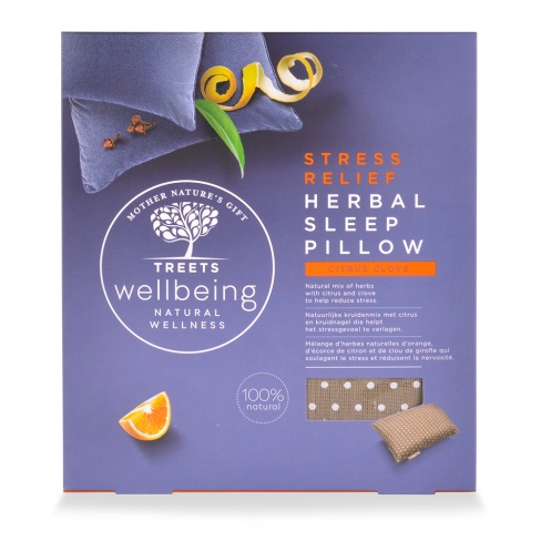 Treets Herbal Sleep Pillow Stress Relief