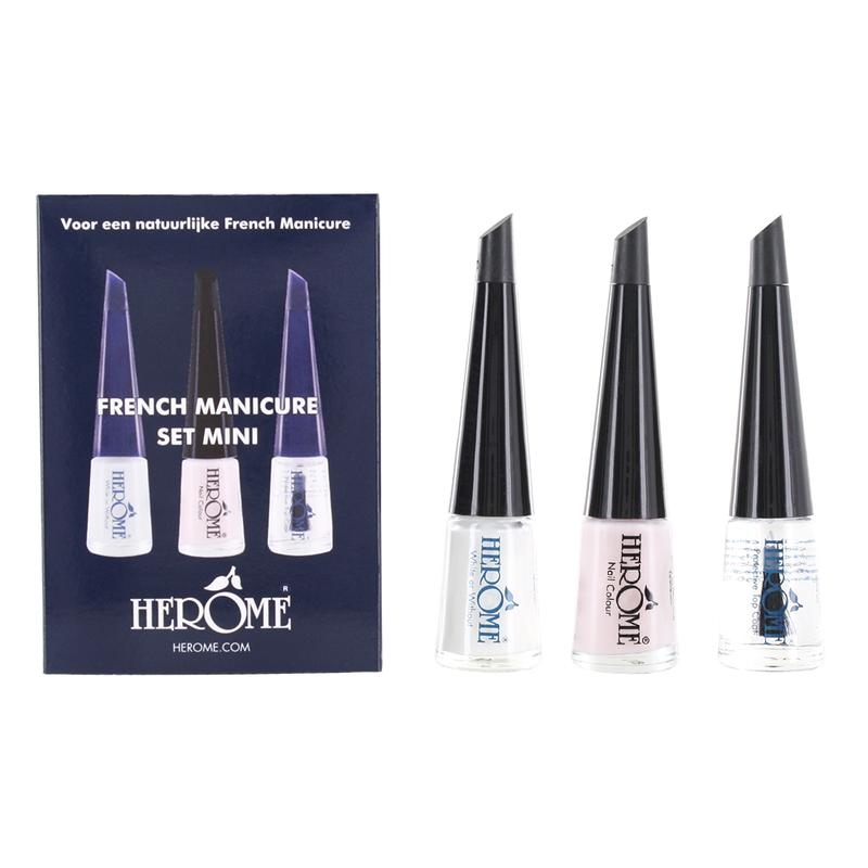 Herome French Manicure Set Mini 3 X 4 Ml