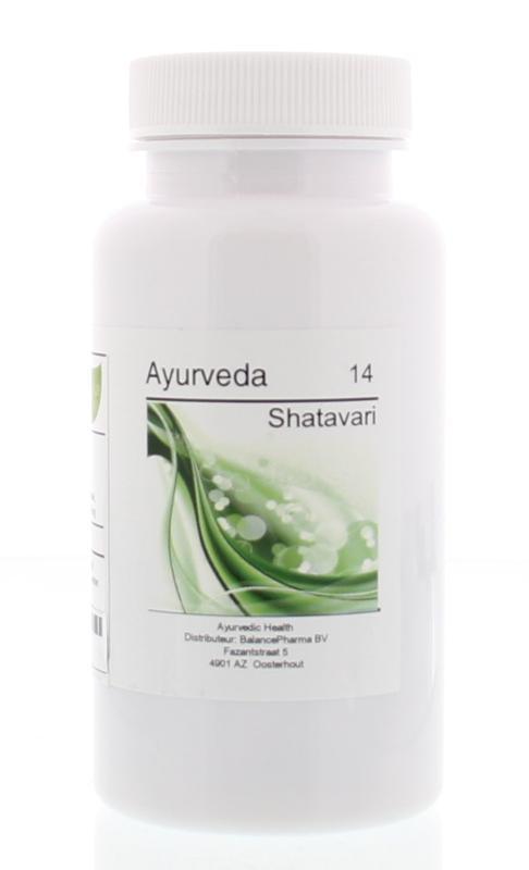 Afbeelding van Balance Pharma Av 14 Shatavari 60ca