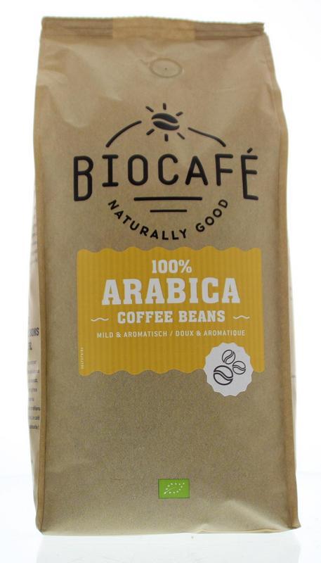Afbeelding van Biocafe Koffiebonen Arabica 1kg