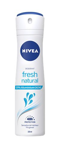 Nivea Deodorant Fresh Natural Spray Female