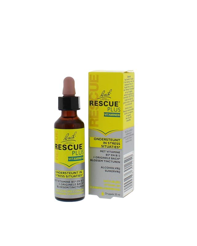 Bach Rescue Remedy Plus Druppels