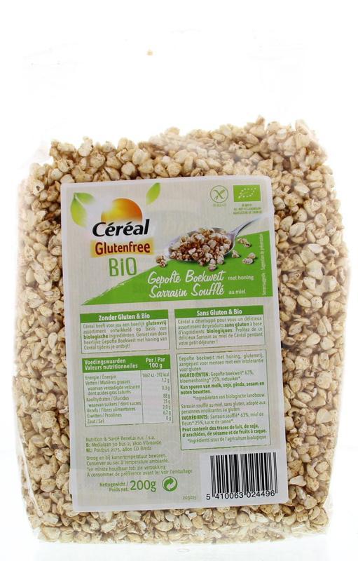 8c0cdf881f2227 extreme injector 3 Cereal Ontbijt Gepofte Boekweit Honing Bio Glutenvrij