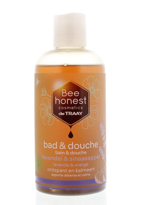 Traay Bee Honest Bad  Douche Lavendel  Sinaasappel