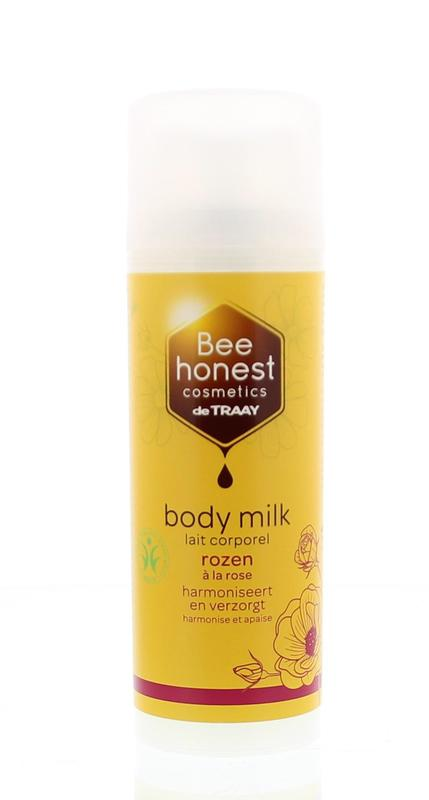 Bodymilk Rozen Bee Natural Bdih