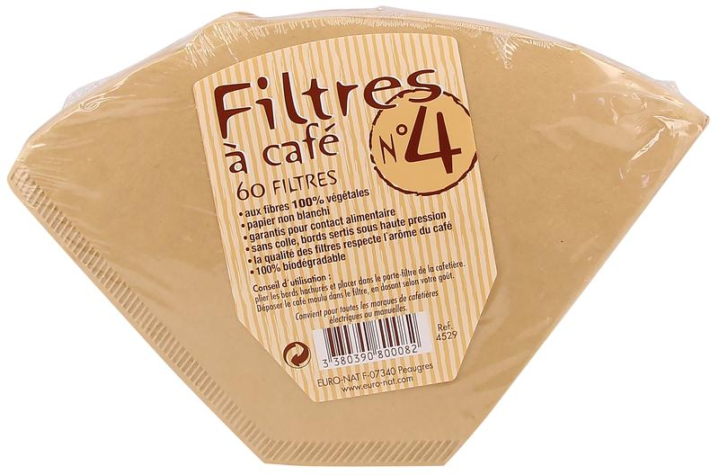 Euro Nat Koffie Filters No 4