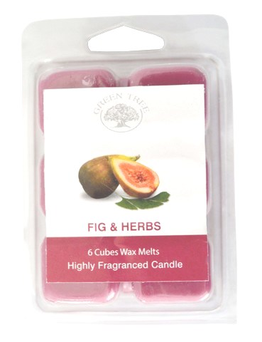 Green Tree Wax Melts Figs & Herbs