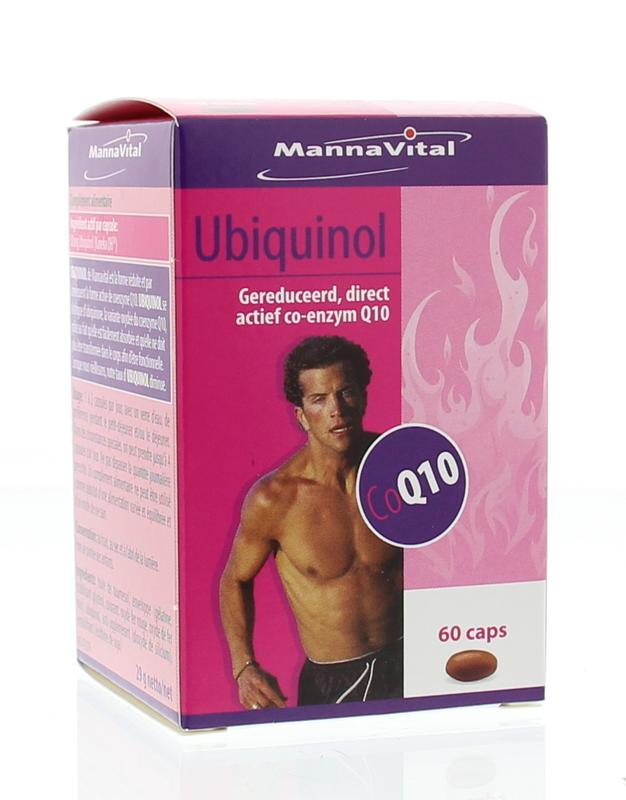 Mannavital Ubiquinol Co-Enzyme Q10