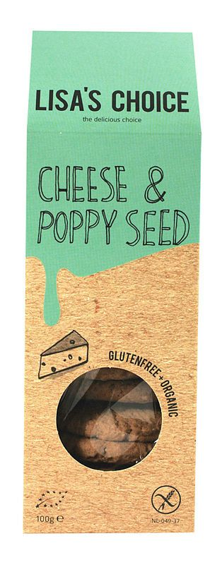 Lisa's Choice Poppy Seed Cookies