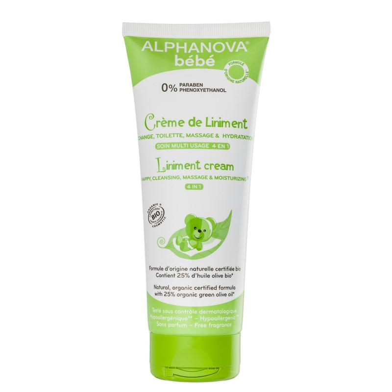 Alphanova Baby Bio Liniment Cream 4 In 1