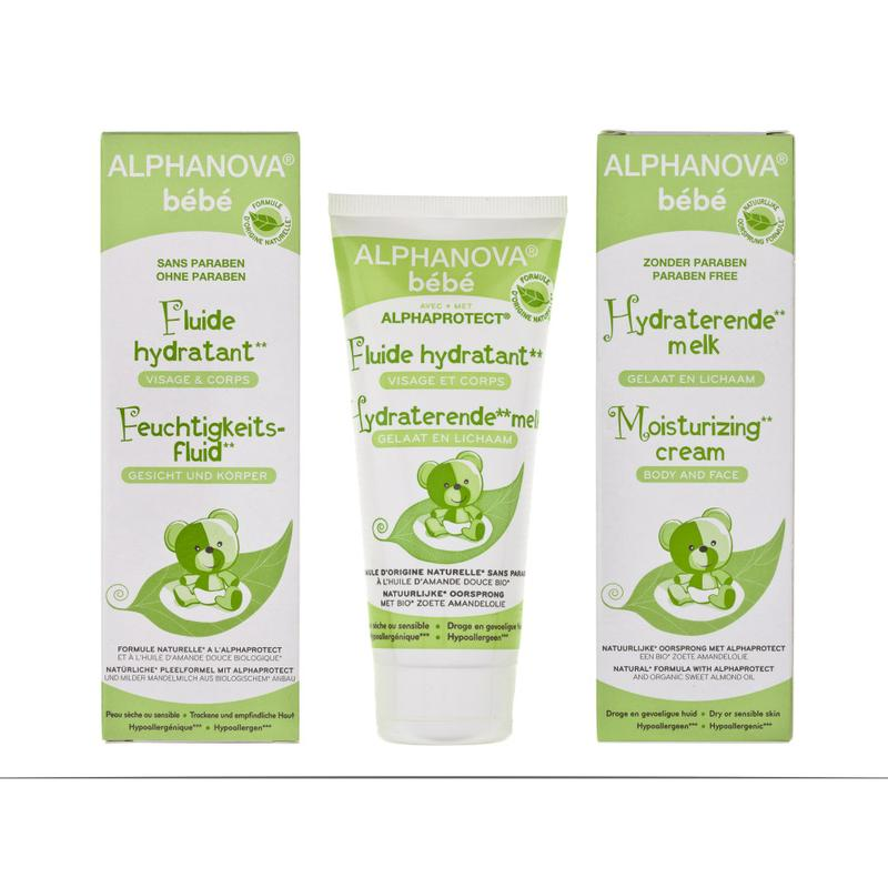Afbeelding van Alphanova Baby Moisturizing Cream Mild Dryness Bio 100ml
