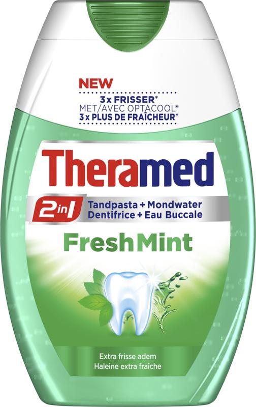 Theramed 2 In 1 Fresh Mint Tandpasta