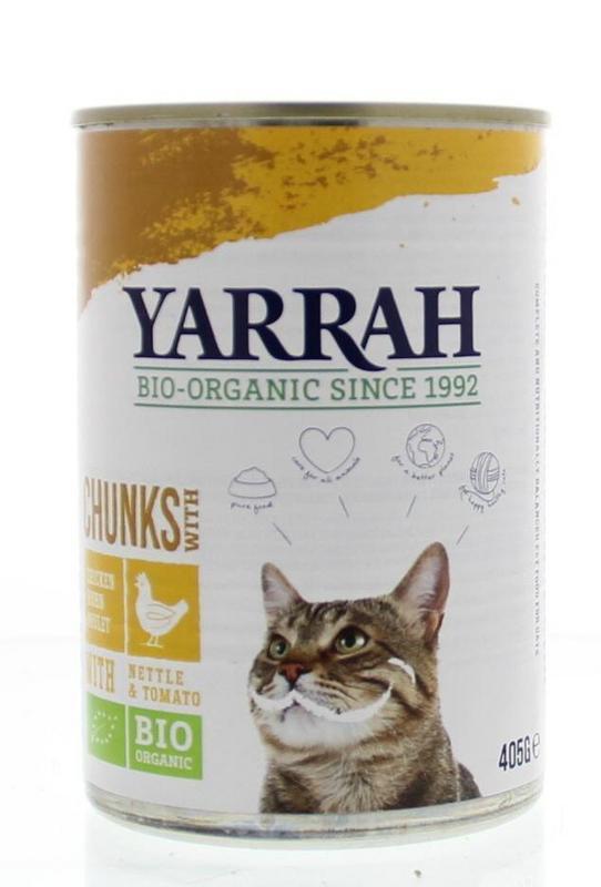 Yarrah Kat kip in saus 405g