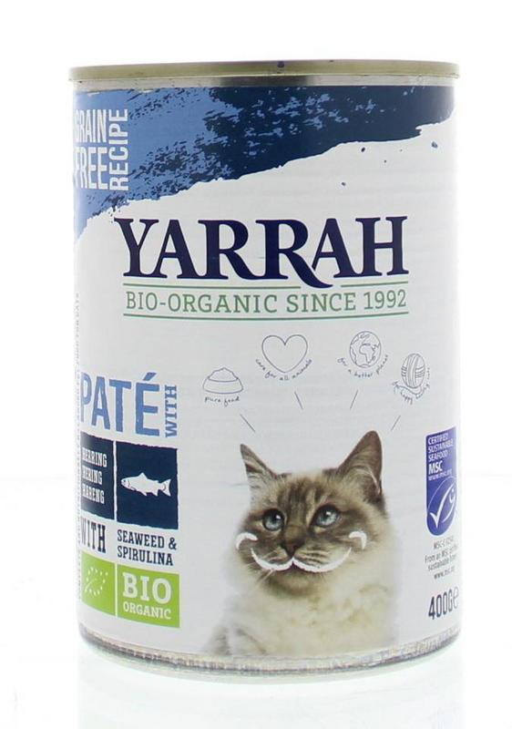 Yarrah Kat pate met vis 400g
