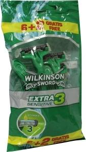 Wilkinson Extra Iii Sensitive 6 + 2