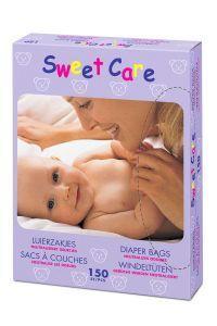 Sweetcare Luierzakjes 150stuks