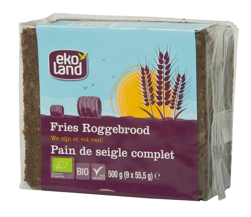 Ekoland Fries Roggebrood