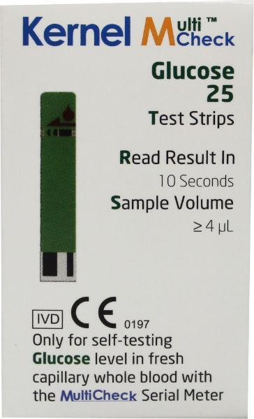 Testjezelf Multicheck Glucose Strips 25stuks