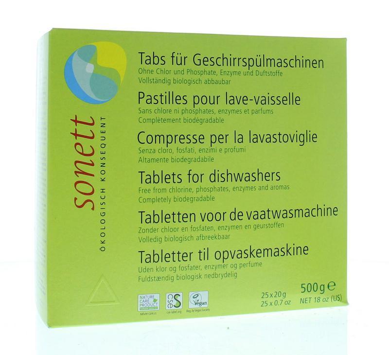 Sonett Vaatwasmachine Tablet 25stuks