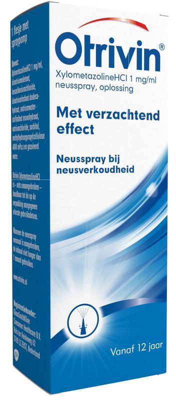 Otrivin Neusspray Hydraterende Formule Voor Volwassenen En Kinderen V.a. 6 Jaar 10ml