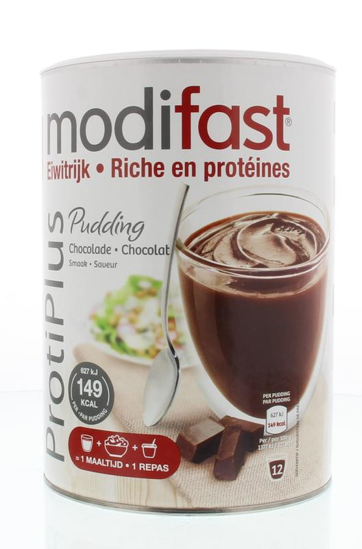 Modifast Protiplus Pudding Chocolade Afslankproduct