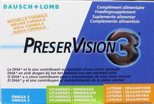 Afbeelding van Bausch&lomb Preservision 3 Nieuwe Formule 60ca