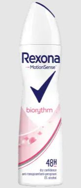 Rexona Deodorant Spray Biorythm