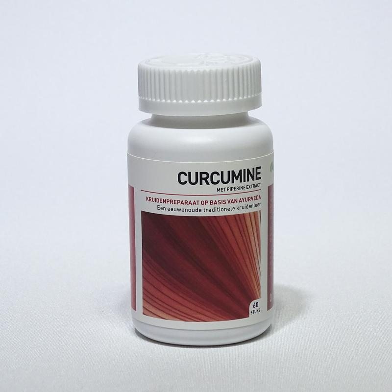 Afbeelding van Ayurveda Health Curcumine Piperine Extract 60ca